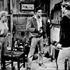 "Elvis Presley and Barbara Eden in ""Flaming Star, 20th Century Fox, 1960."