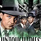 Abel Fernandez, Nicholas Georgiade, and Robert Stack in The Untouchables (1959)