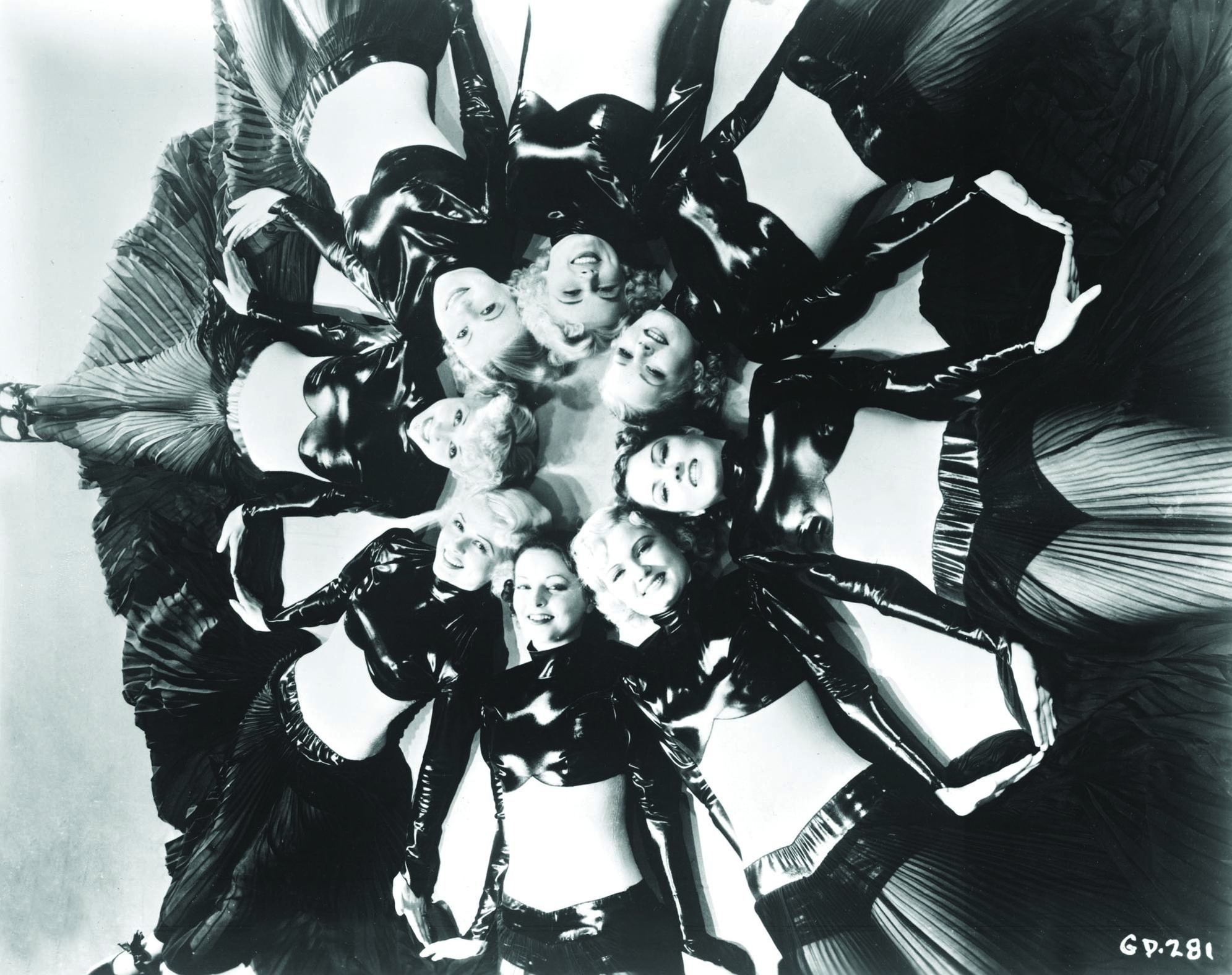 Ruth Eddings, June Glory, Peggy Graves, Virginia Grey, Emily LaRue, Ethelreda Leopold, Lois Lindsay, and Marie Marks in Gold Diggers of 1935 (1935)
