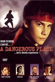 Corey Feldman, Erin Gray, Mako, Ted Jan Roberts, and Dick Van Patten in A Dangerous Place (1994)