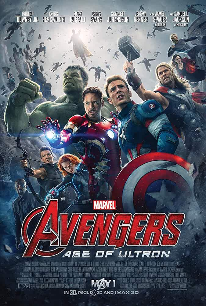 Avengers Age of Ultron (2015) 720p BDRip [Tamil+Telugu + Hindi+Eng] x264-1.2GB-ESubs