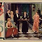 John Davidson, Mary Forbes, Holmes Herbert, Leila Hyams, Helene Millard, Conrad Nagel, and Margaret Wycherly in The Thirteenth Chair (1929)