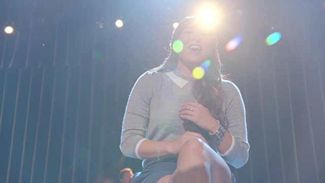 Teen Drama Heaven: Glee: Naked Recap/Review