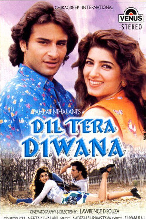 Dil Tera Diwana.1996 Hindi 720p HDRip x264 1.2GB