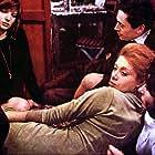 Carlo Chionetti, Aldo Grotti, Rita Renoir, Xenia Valderi, and Monica Vitti in Il deserto rosso (1964)
