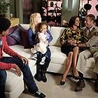 Colin Ferguson, Salli Richardson-Whitfield, Jordan Danger, Trevor Jackson, and Ileeya Brown in Eureka (2006)