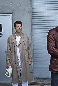 Jensen Ackles, Misha Collins, and Jared Padalecki in Supernatural (2005)
