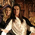 """Ronn Moss is Count Dracula with Erica Hanson in """"Her Morbid Desires"""", a segment in """"The Boneyard Collection""""."""