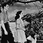 """""""Courgae of Lassie"""" Elizabeth Taylor, Lassie and T. Drake 1946 MGM MPTV"""
