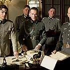 Tom Cruise, Christian Berkel, and Jamie Parker in Valkyrie (2008)
