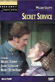 Meryl Streep and John Lithgow in Secret Service (1977)