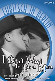I Don't Want to Be a Man Poster