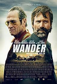Tommy Lee Jones, Aaron Eckhart, and Heather Graham in Wander (2020)