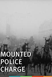 Mounted Police Charge Poster