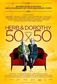 Herb & Dorothy 50X50 Poster
