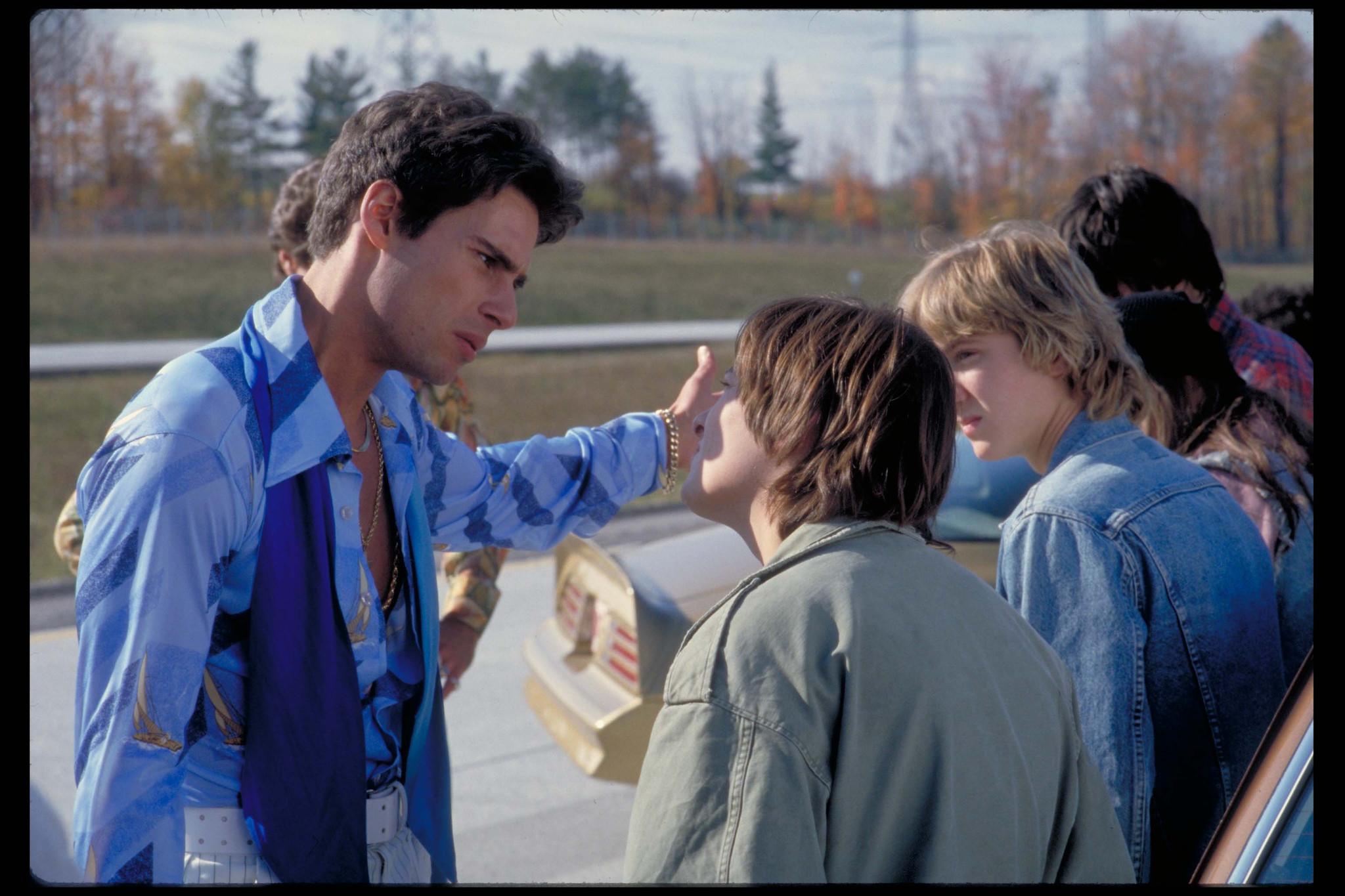 Edward Furlong, Sam Huntington, and Nick Scotti in Detroit Rock City (1999)