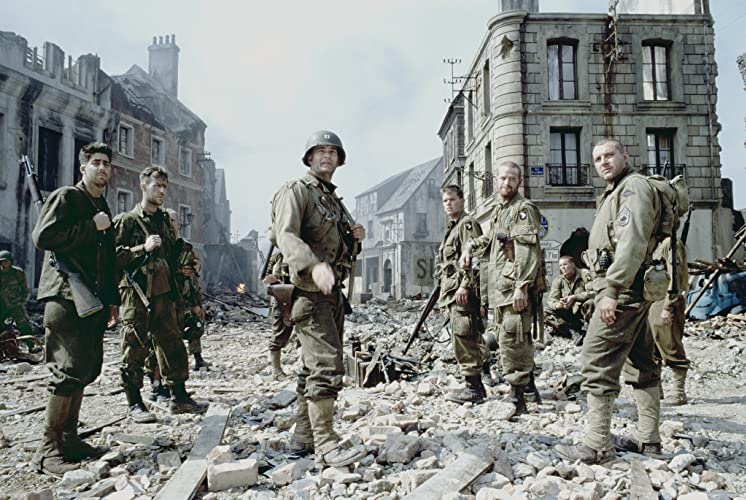 an analysis of the battle at normandy in saving private ryan by steven spielberg Steven spielberg also made saving private ryan an anti-war movie through the cast he chose the cast is composed of captain miller (tom hanks) and seven other cast members make up the team the cast is composed of captain miller (tom hanks) and seven other cast members make up the team.