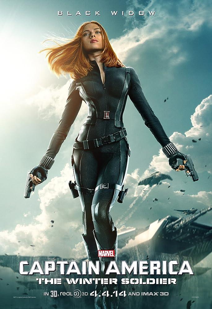 Scarlett Johansson in Captain America: The Winter Soldier (2014)