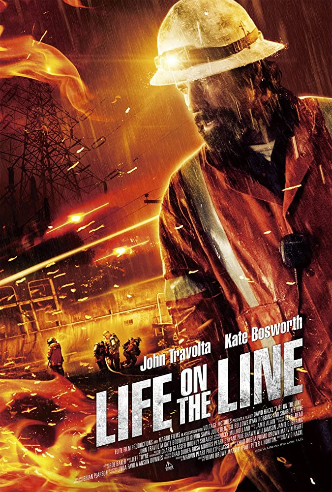 Poster film Life on the Line.