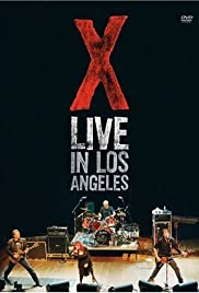 X: Live in Los Angeles Poster