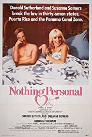Donald Sutherland and Suzanne Somers in Nothing Personal (1980)