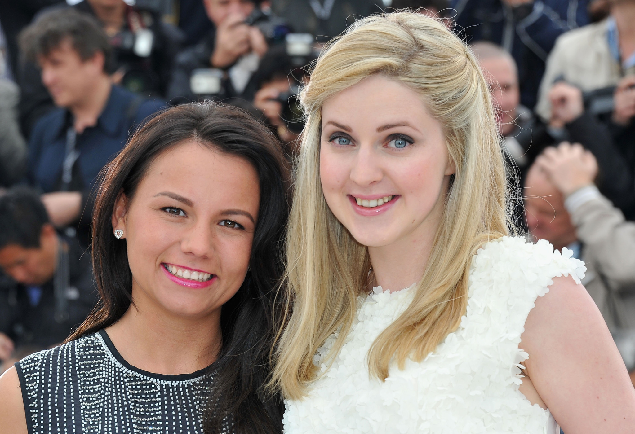 Siobhan Reilly and Jasmin Riggins at an event for The Angels' Share (2012)