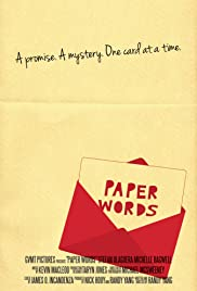 Paper Words Poster