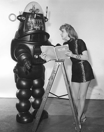 Forbidden Planet Anne Francis Robby the Robot MGM 1956 IV