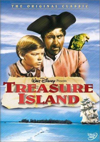 Bobby Driscoll and Robert Newton in Treasure Island (1950)
