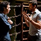Hugh Jackman and Shawn Levy in Real Steel (2011)