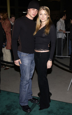 LeAnn Rimes and Dean Sheremet at an event for Poolhall Junkies (2002)