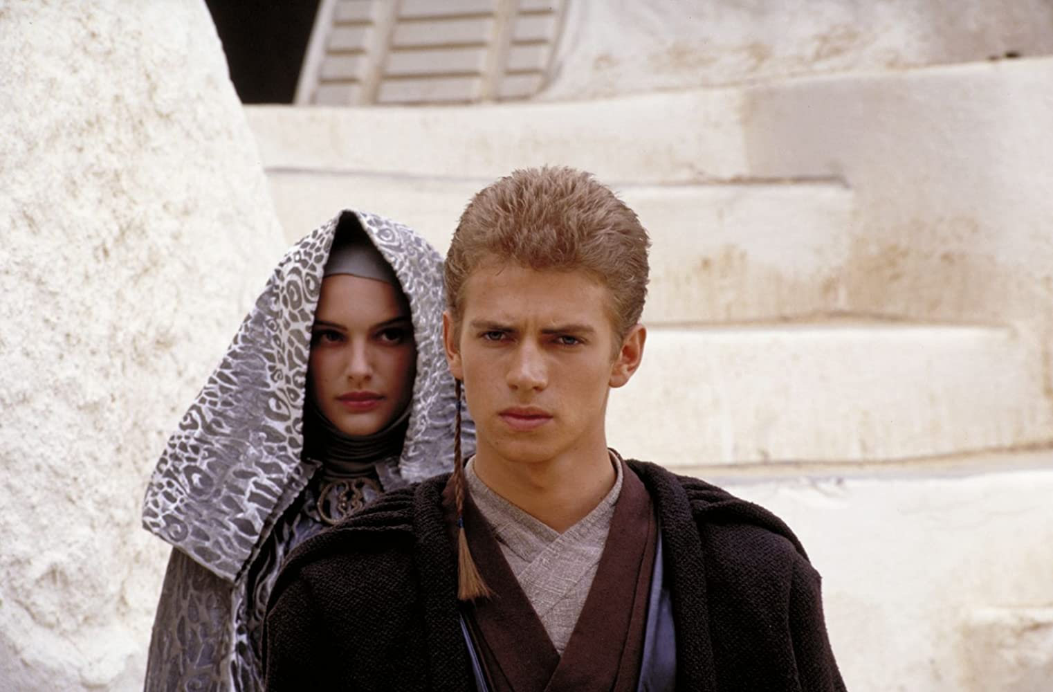 Natalie Portman and Hayden Christensen in Star Wars: Episode II - Attack of the Clones (2002)