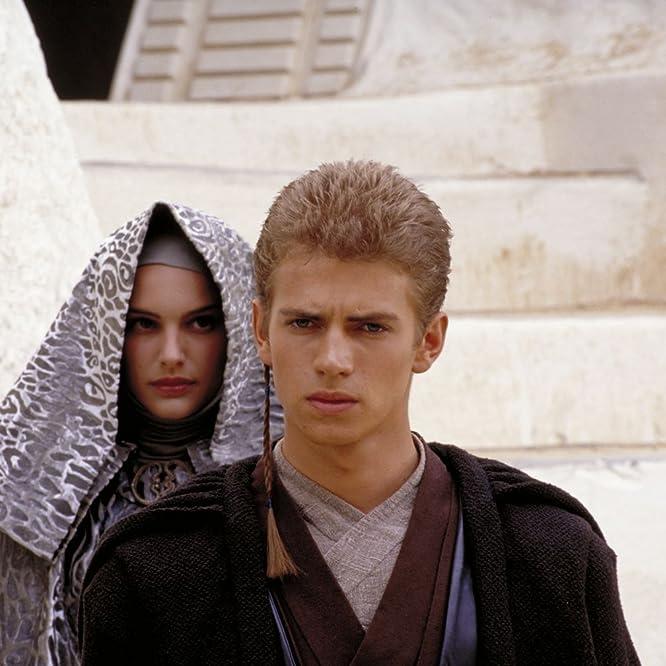 Natalie Portman and Hayden Christensen in Star Wars: Episode II - Attack of the Clones (2002)