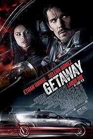 Ethan Hawke and Selena Gomez in Getaway (2013)