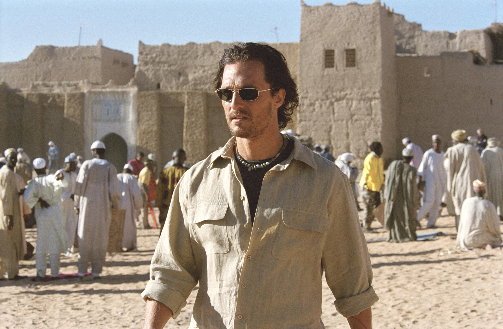 Matthew McConaughey in Sahara (2005)