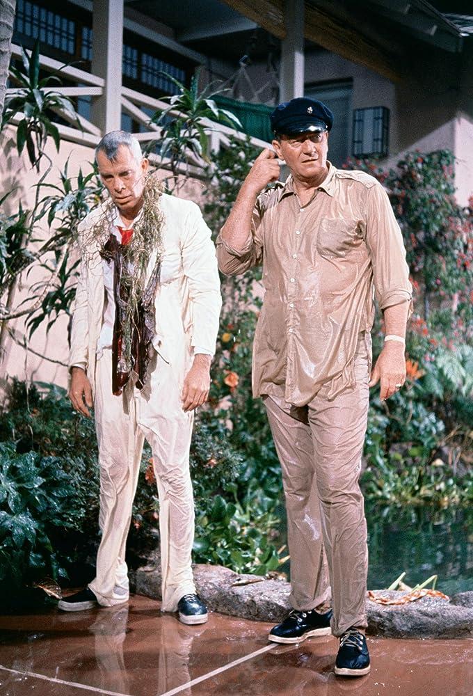 John Wayne and Lee Marvin in Donovans Reef 1963