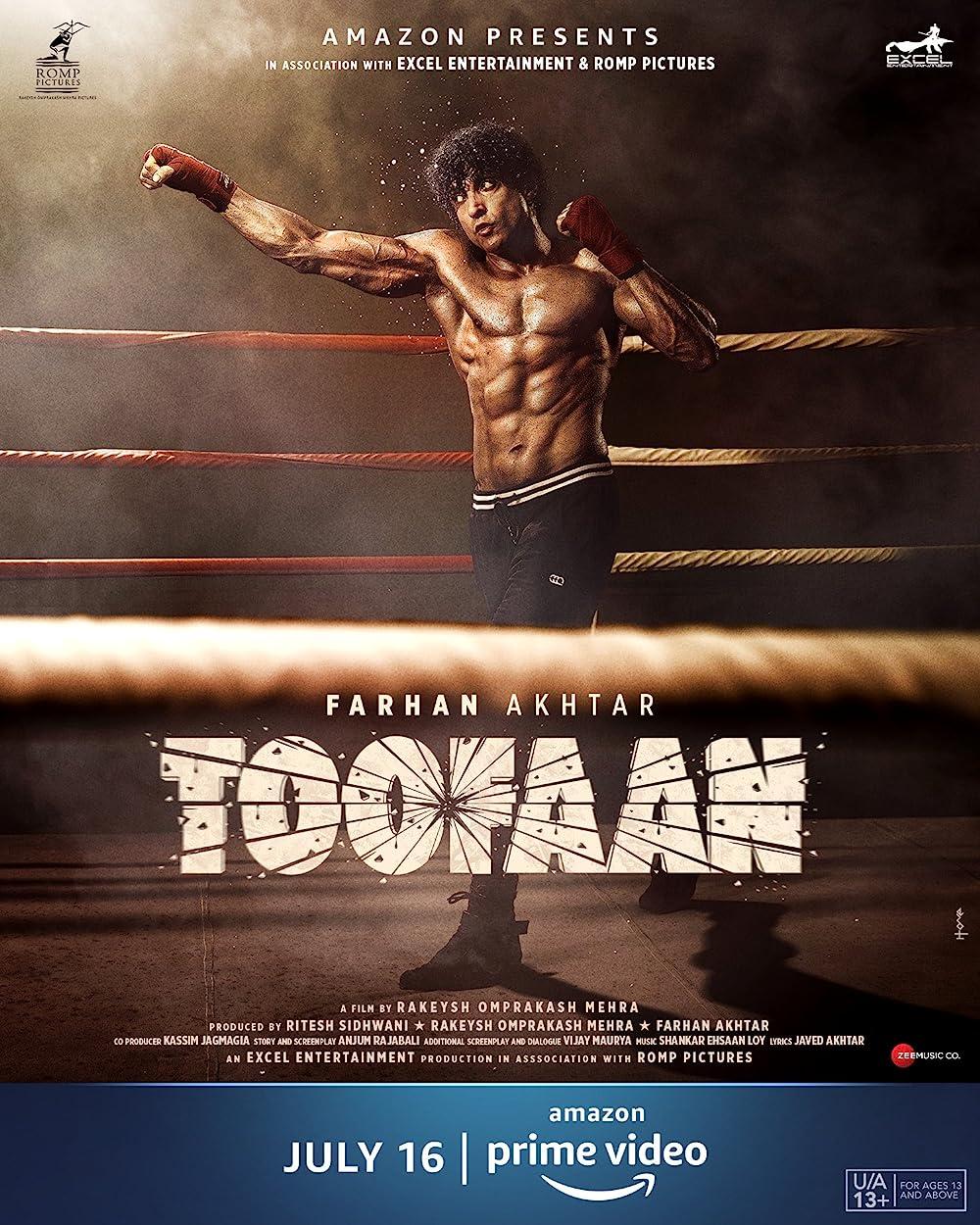 Toofaan 2021 Hindi Movie Official Trailer 1080p HDRip 40MB Download