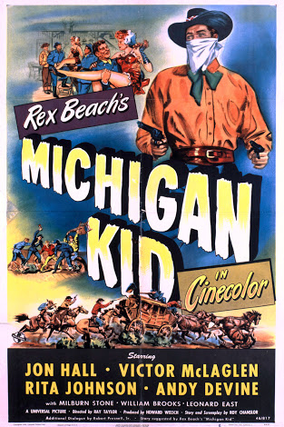 Jon Hall in Michigan Kid (1947)