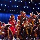 Darren Criss, Kevin McHale, Melissa Benoist, Jenna Ushkowitz, Chord Overstreet, Becca Tobin, Blake Jenner, and Jacob Artist in Glee (2009)