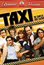Danny DeVito, Marilu Henner, Jeff Conaway, Tony Danza, Andy Kaufman, and Judd Hirsch in Taxi (1978)