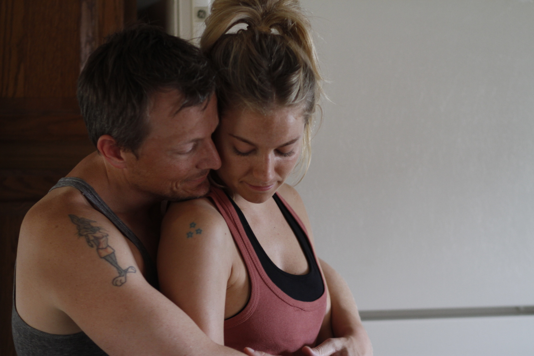 Jesse Bob Harper and Sienna Miller in Just Like a Woman (2012)