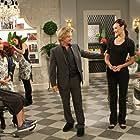 David Spade, Wendi McLendon-Covey, Sarah Desage, and Adhir Kalyan in Rules of Engagement (2007)