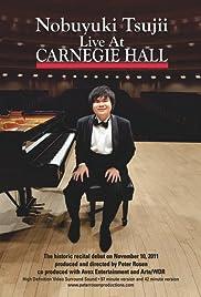 Nobuyuki Tsujii Live at Carnegie Hall Poster
