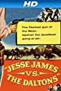 Jesse James vs. the Daltons (1954) Poster