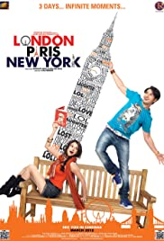 London Paris New York Poster