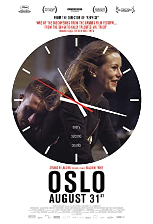 Oslo, August 31st Pelicula Poster