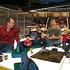 Matt Stone, Trey Parker, Daran Norris, and Masasa Moyo in Team America: World Police (2004)