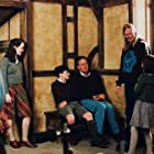 Andrew Adamson, Mark Johnson, Anna Popplewell, Skandar Keynes, and Georgie Henley in The Chronicles of Narnia: The Lion, the Witch and the Wardrobe (2005)
