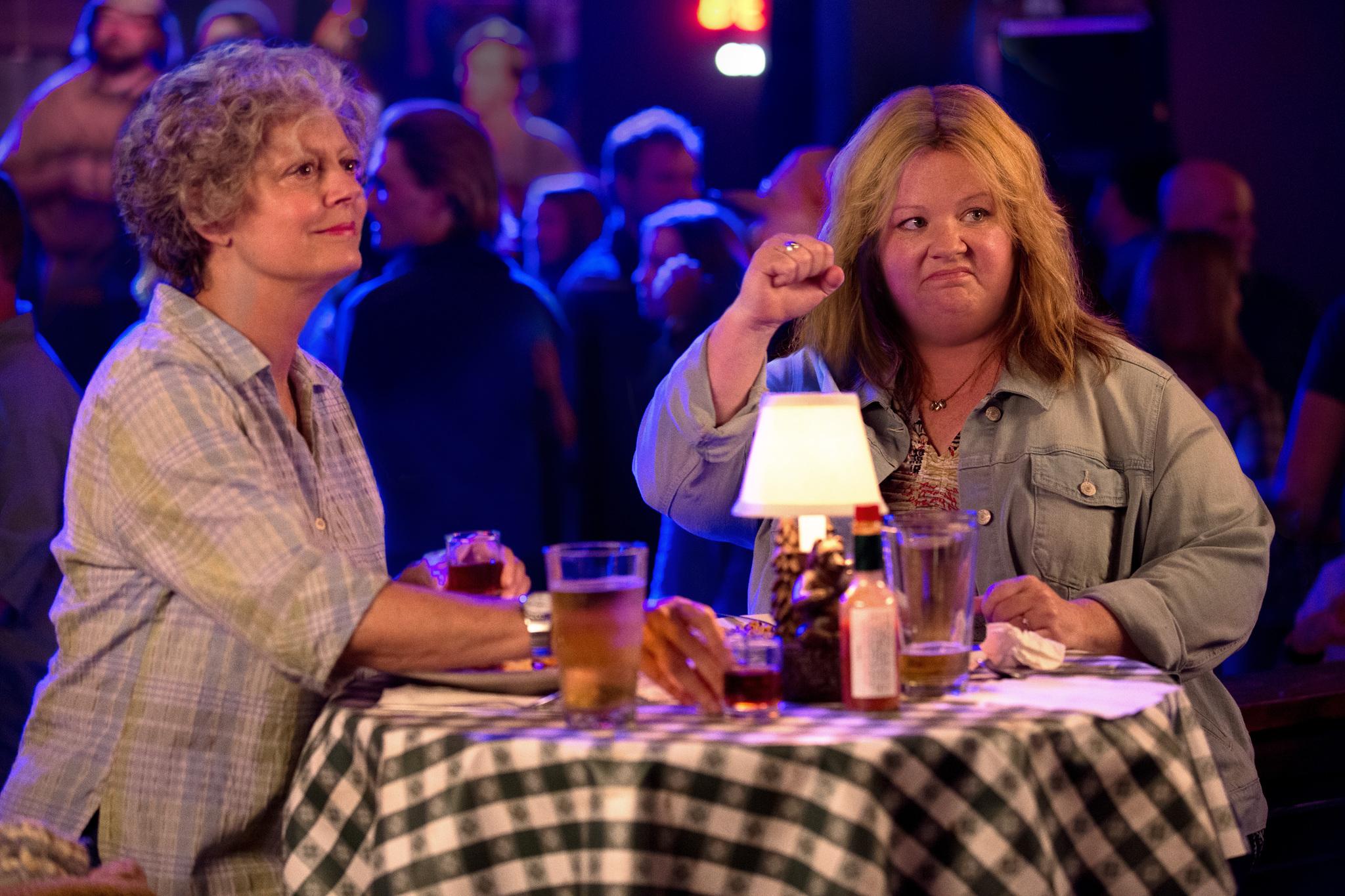 Susan Sarandon and Melissa McCarthy in Tammy (2014)