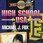 Michael J. Fox and Nancy McKeon in High School U.S.A. (1983)